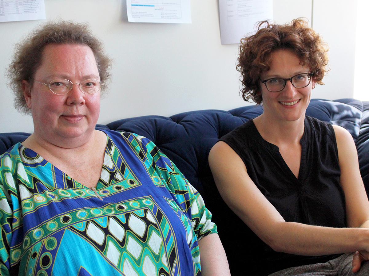 PD Dr. phil. Rotraut Walden und Prof. Dr. Diana Boer befassen sich aus wissenschaftlicher Sicht mit der Psychologie des Glücks. Foto: Guretzke