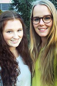 Melanie Weiher und Gudrun Schiffer