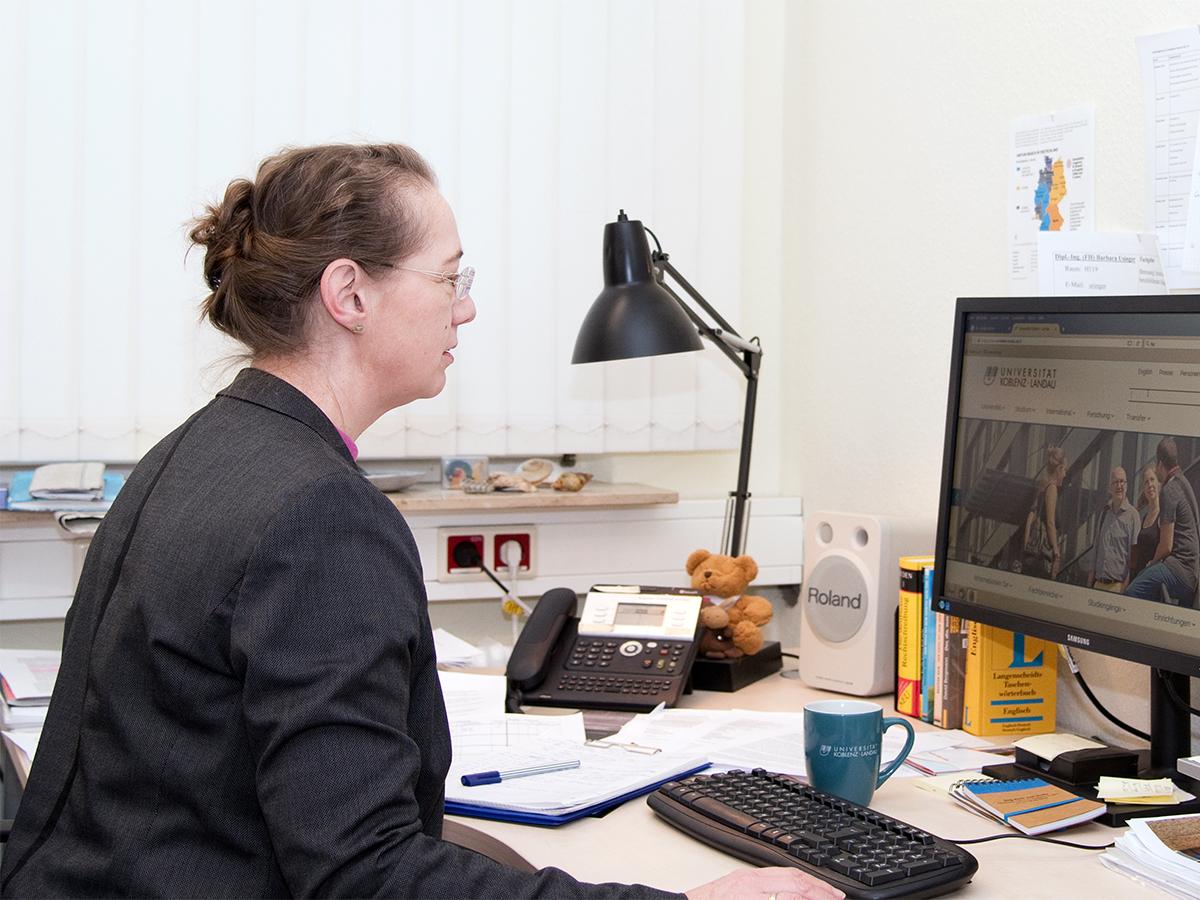 Petra Meinerz kennt Probleme und passende Lösungswege rund um das Thema Studieren. Foto: Greta Rettler