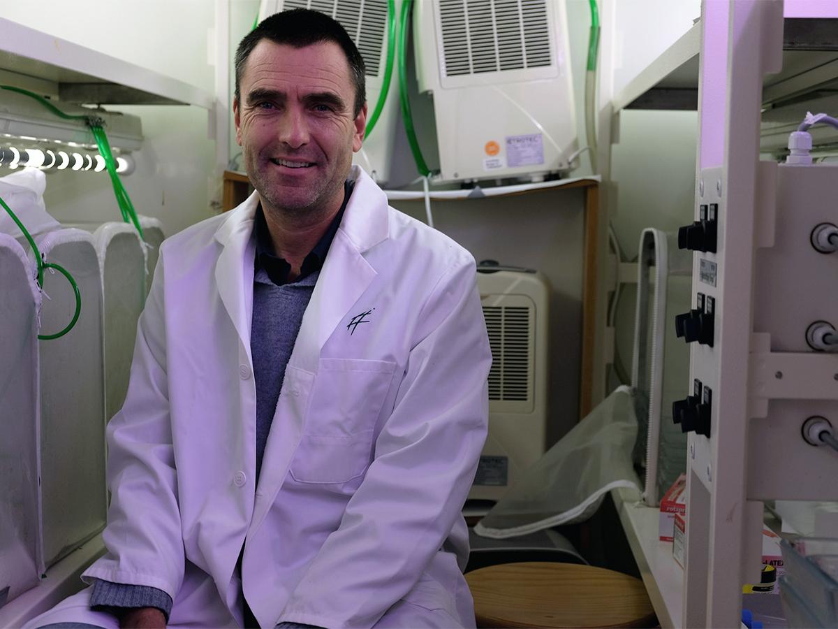 Der Ökotoxikologe Dr. Carsten Brühl vom Landauer Institut für Umweltwissenschaften.